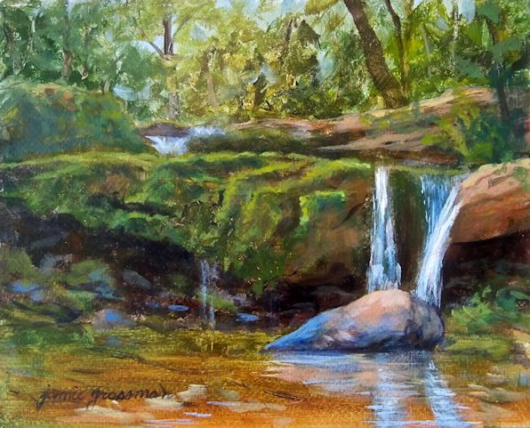 Serene Landscape Paintings Landscape Paintings Acrylic Countryside Paintings