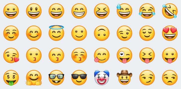 Whatsapp Les Nouveaux Emojis Pour Android Faux Jumeaux De Ceux D Ios Emoji Set Emoji Cool Emoji