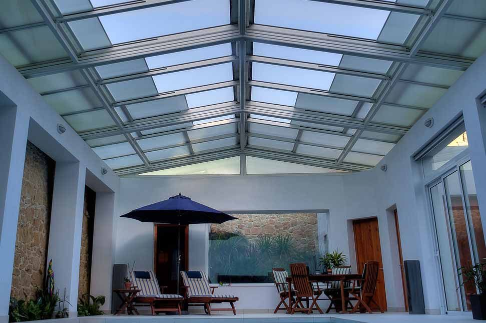 Retractable Roof   Residential   Indoor Pool