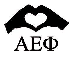 Alpha Epsilon Phi S Hand Symbol Sorority Big Little Aephi