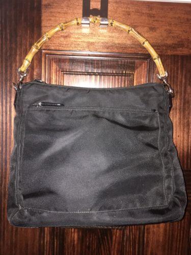 #Trending - Vintage Gucci Black Nylon With Bamboo Handle Shoulder Bag https://t.co/wNOX3QJ5Js Ebay https://t.co/K9gp8XlkcY