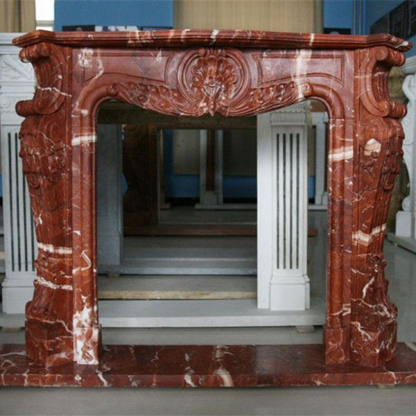 Red Marble Fireplace Email Me For More Options Marble Fireplaces Natural Stone Fireplaces Fireplace
