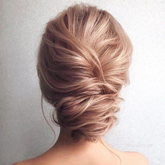 Hairstyle For Wedding Effortless Updo Hairstyle  Bridal Updo Updo And Weddings