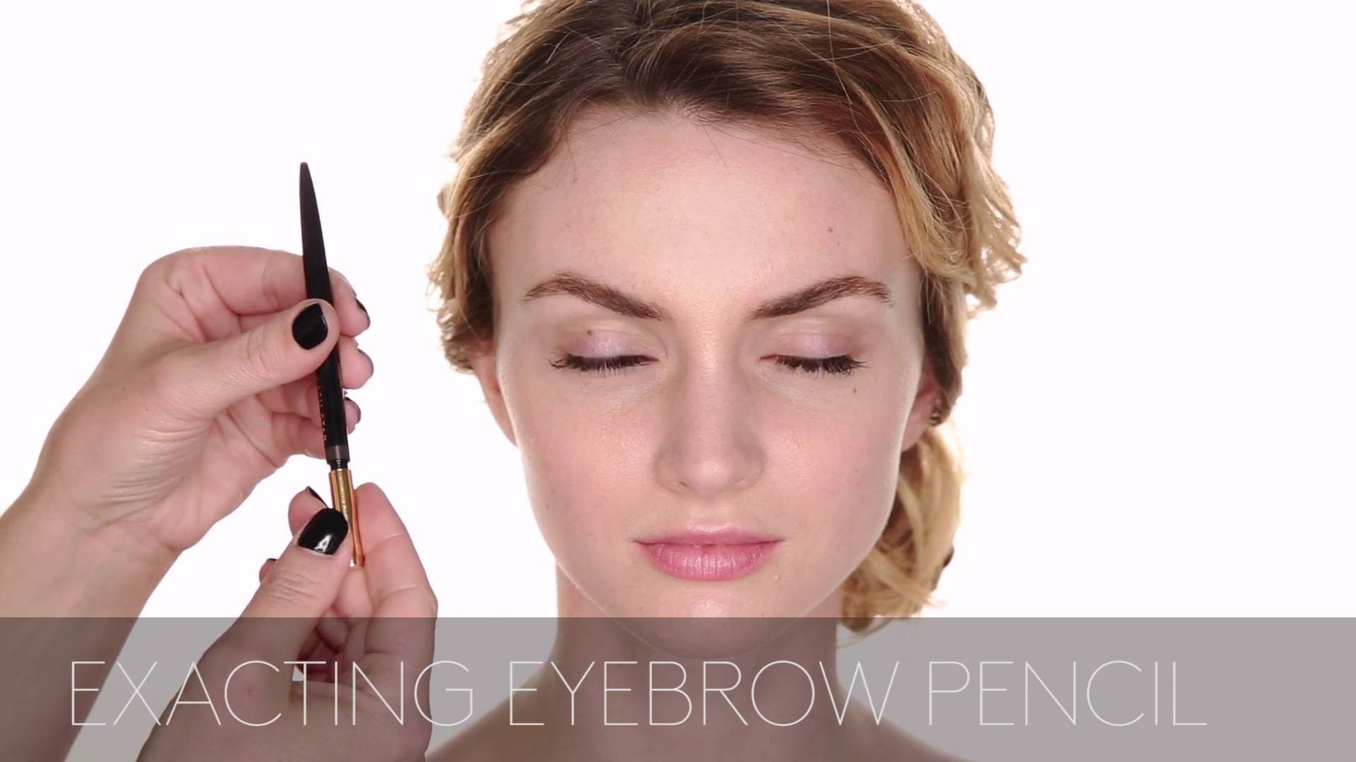 Eyebrows 101 how to apply eyebrow pencil makeup tutorial by eyebrows how to apply makeup tutorial by star beauty founder and celebrity makeup artist tracy murphy baditri Images