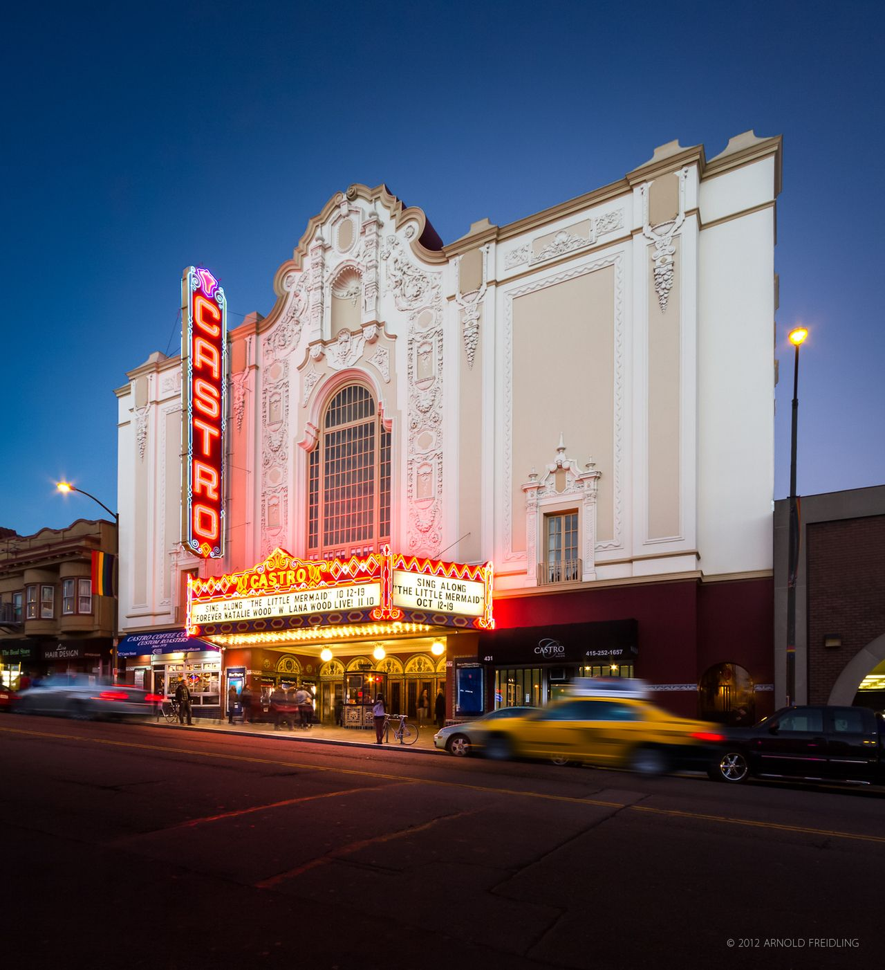 Castro Theatre 429 Castro Street San Francisco Ca 1500 Seats Opened In 1922 Architect Timothy L San Francisco Bay Area San Fransisco Castro Theater