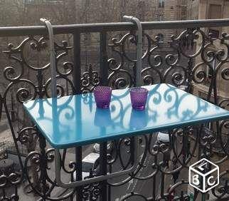 Table de balcon suspendue ikea | Balcon en 2019 | Table de ...