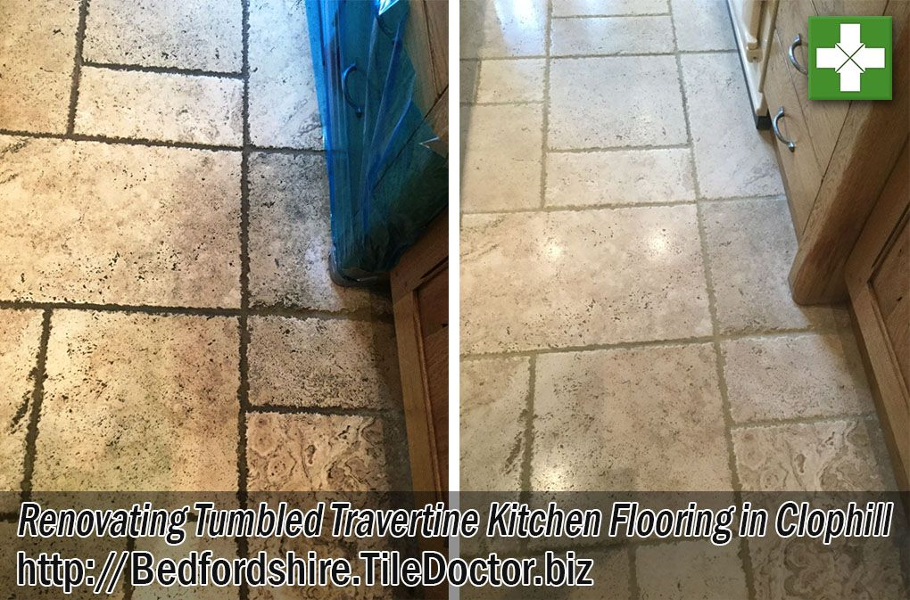 Travertine Floor Tiles Are Very Appealing But Without The Protection