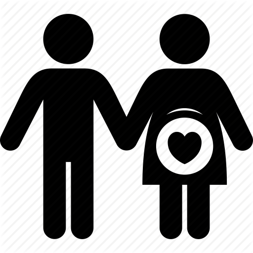 Couple Man Pregnant Woman Icon Download On Iconfinder Iconic Women Icon Pregnant