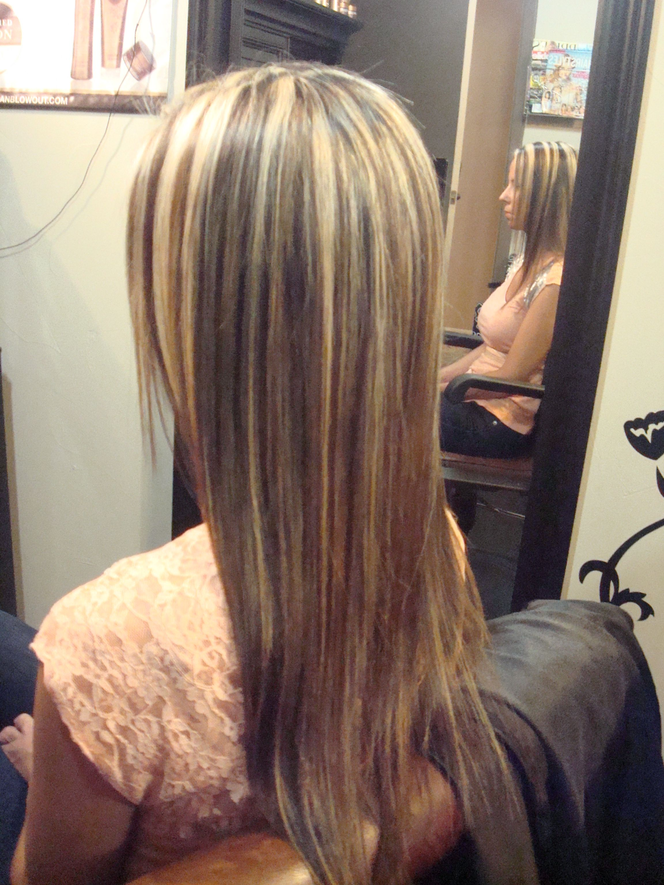 Brown Hair With Blonde Highlights Caramel