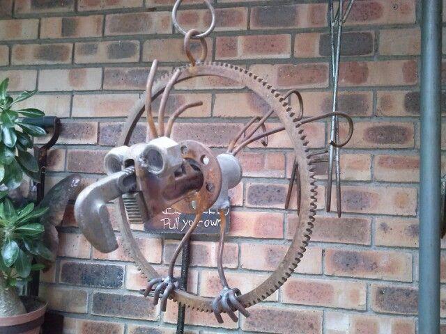 Bird From Old Scrap Tools Scrap Metal Art Metal Garden Art Metal Yard Art
