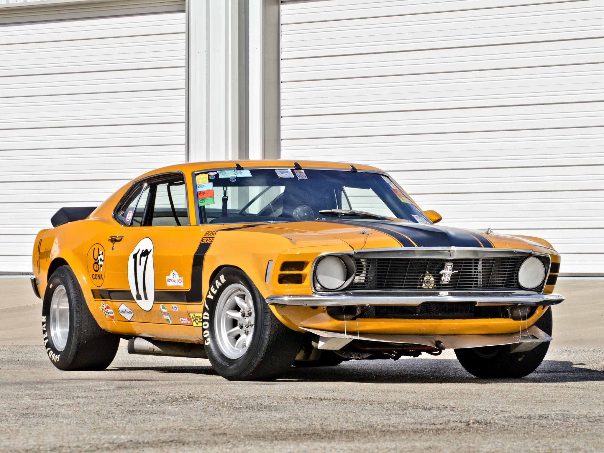 racing mustang boss | Mustang Boss 302 Trans-Am Race Car \'1970 ...