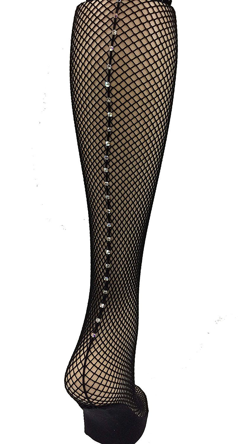 ed42a5bfddb38 Capezio Swarovski Rhinestones Fishnet Seamed Tights 3400 ** This is an  Amazon Affiliate link. Read more at the image link.