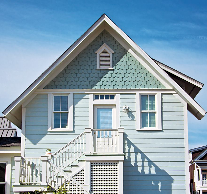 All About Fiber Cement Siding Cottage House Exterior Shingle House House Paint Exterior