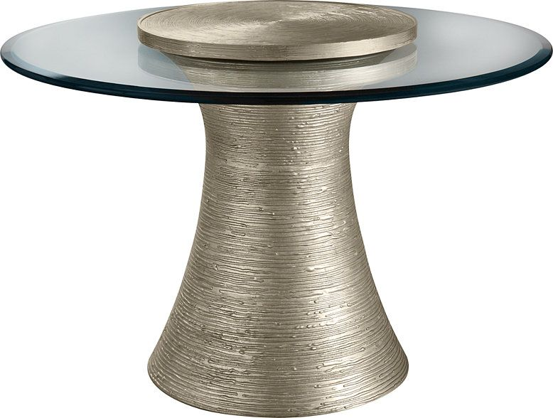 The Katoucha Is A Simple Solution For A Round Center Table The