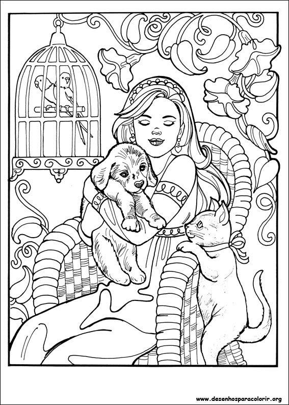 Desenhos Para Colorir Da Princesa Leonora Desenhos Para Colorir