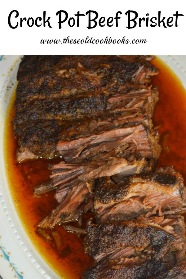 Crock Pot Beef Brisket