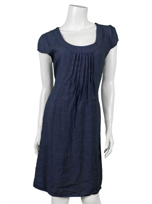 leinenkleid, dunkelblau | leinenkleid, kleider und kleider