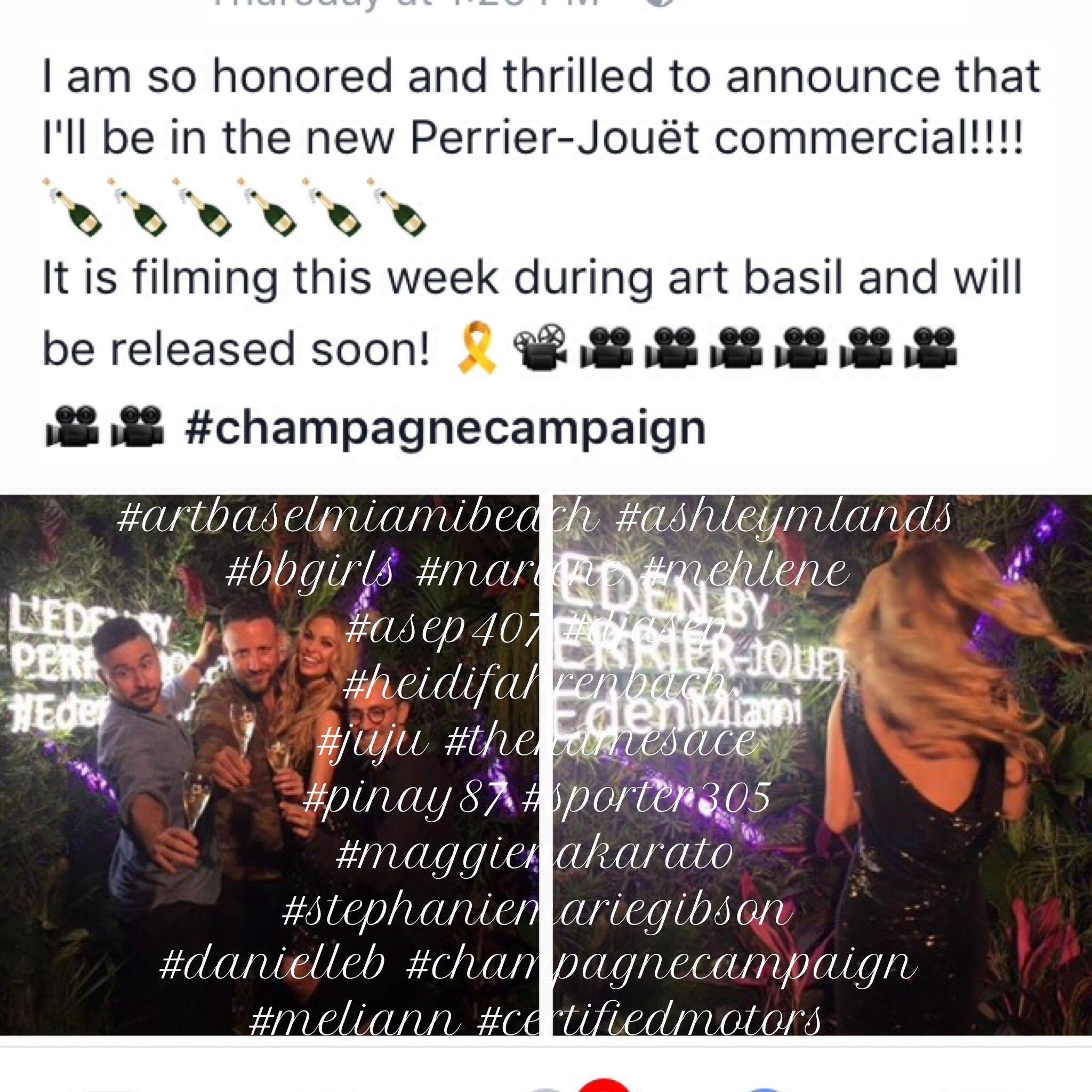#artbaselmiamibeach #ashleymlands #bbgirls #marlene #mehlene #asep407 #djasep #heidifahrenbach #juju #thenamesace #pinay87 #sporter305 #maggienakarato #stephaniemariegibson #danielleb #champagnecampaign #meliann #certifiedmotors