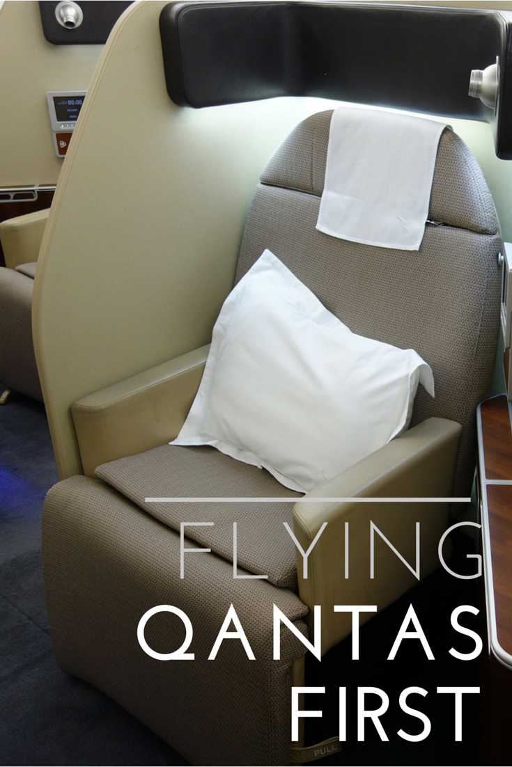 Qantas First Class Review First class, Air china