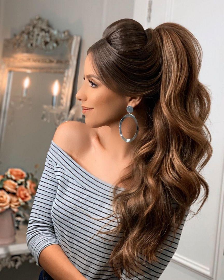 Pin em Penteados e cabelos