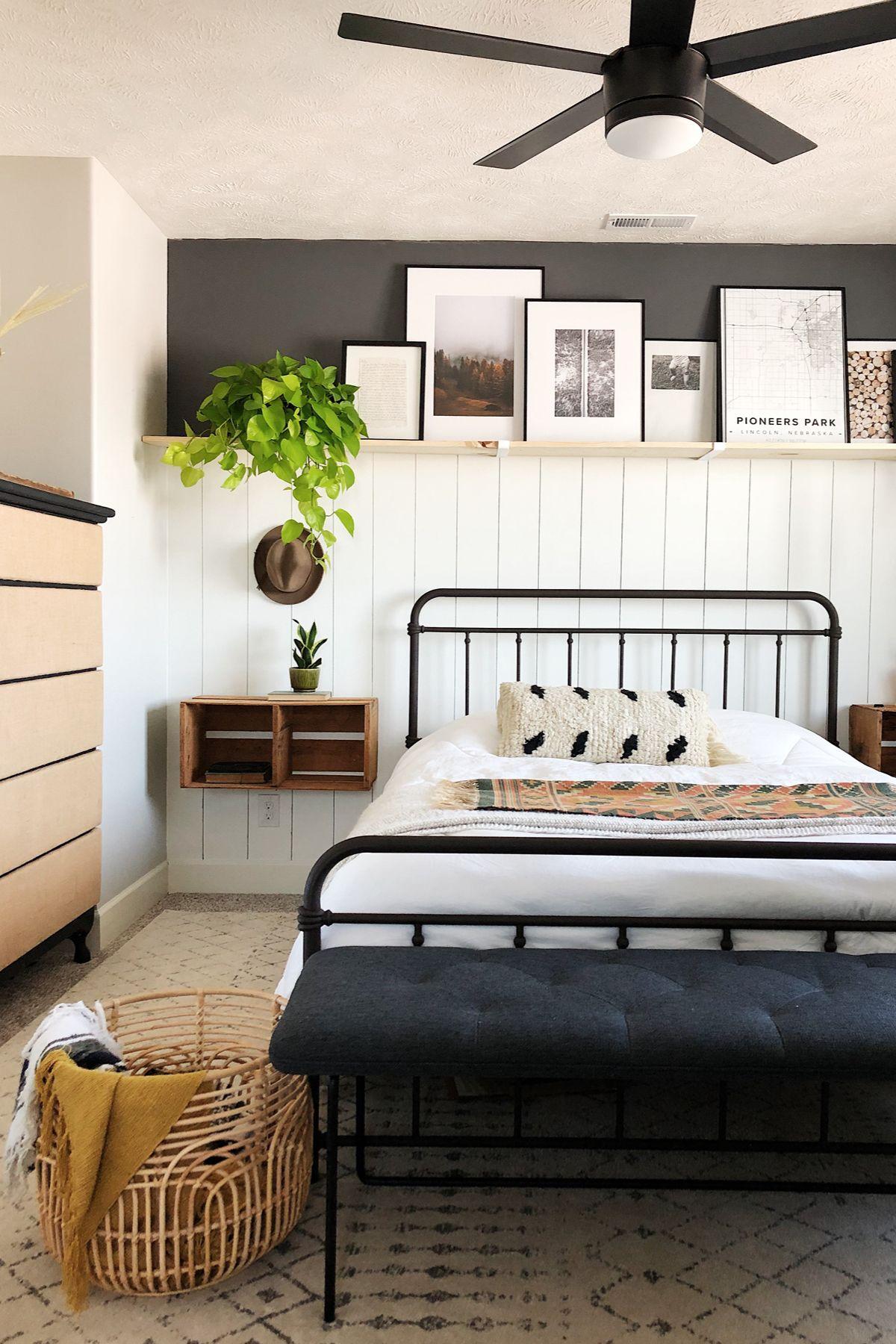 Level Bard Gray 61 Bench In 2020 Coastal Bedroom Decorating Home Bedroom Remodel Bedroom