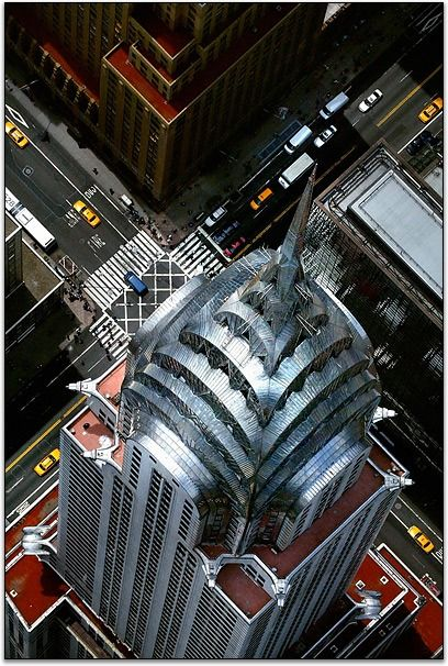 Chrysler Building; view from the top.
