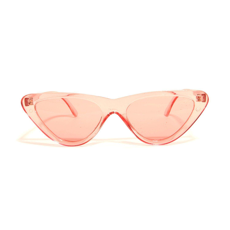 Slim Clear Sunglasses