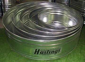 Round Stock Tanks Are Great Water Troughs For Large Groups Of