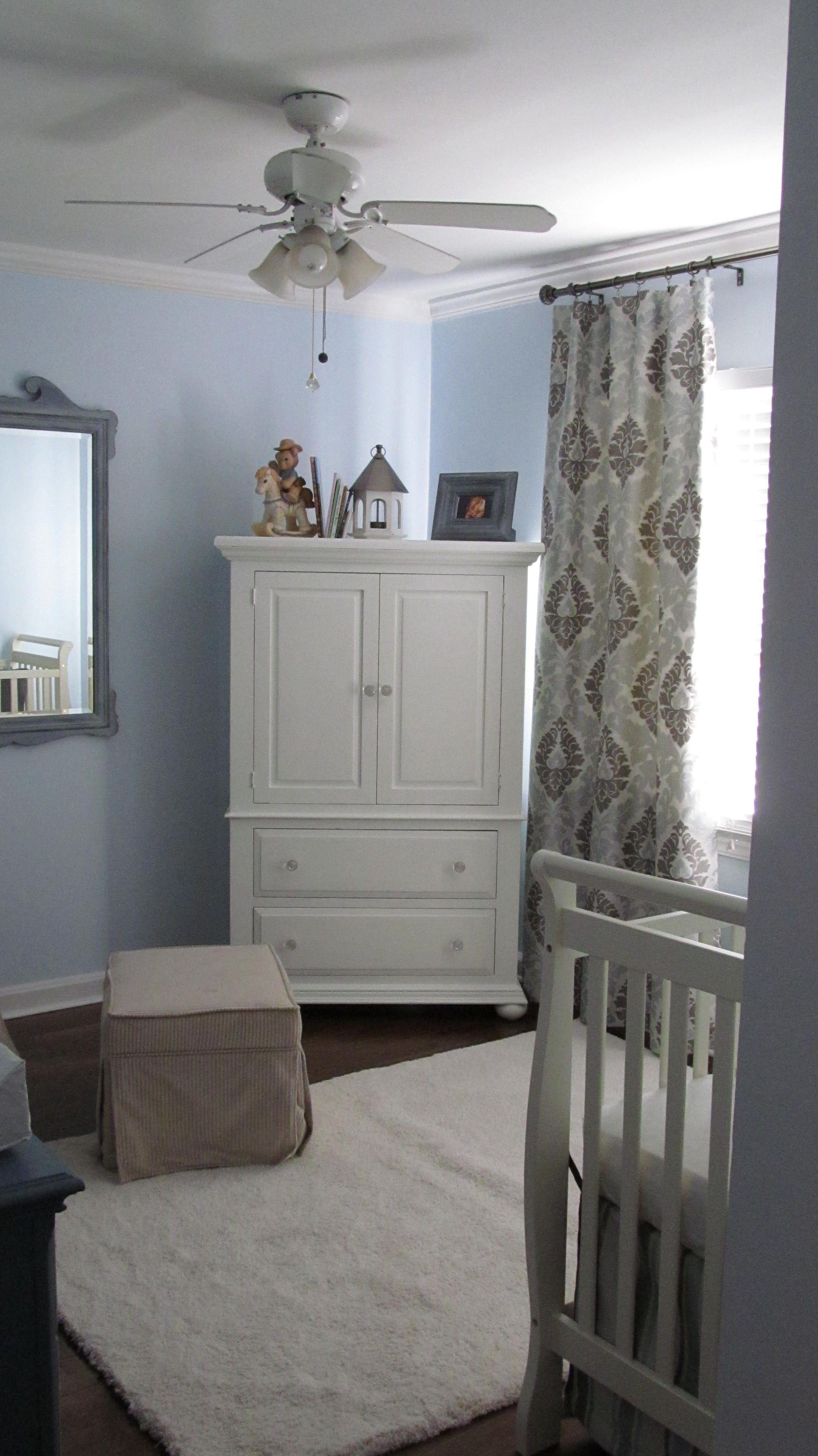 Neutral Boy Nursery Gray And Blue Nest Ideas