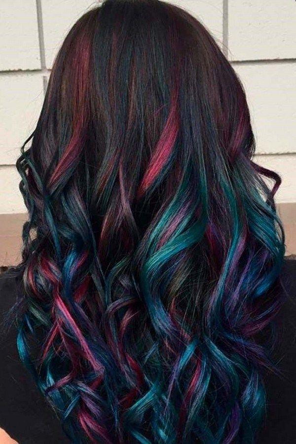 lovely purple hair color ideas