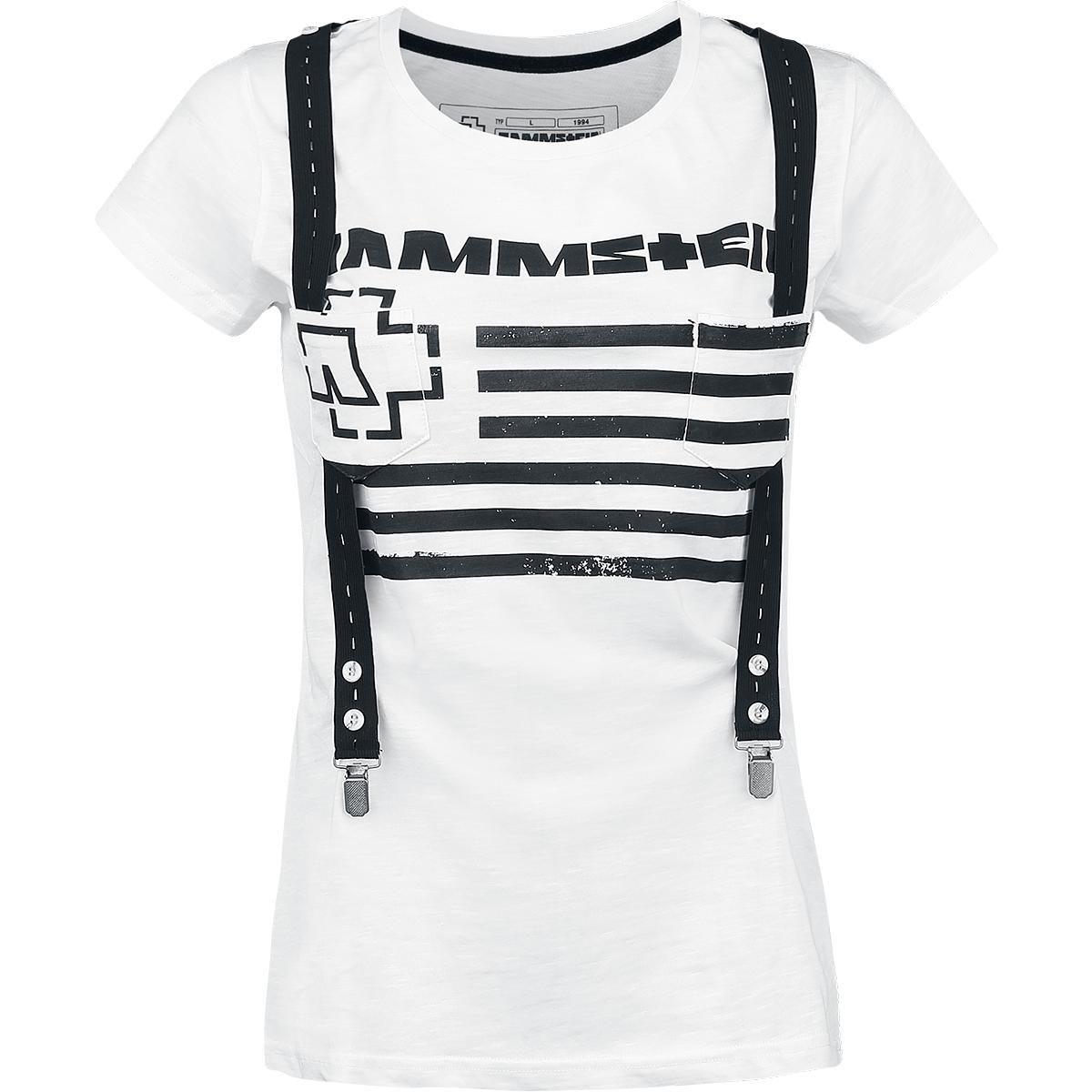 5b2a0dc51675 Suspender en 2019   Kleidung   T shirt blanc, T shirt et Bretelles