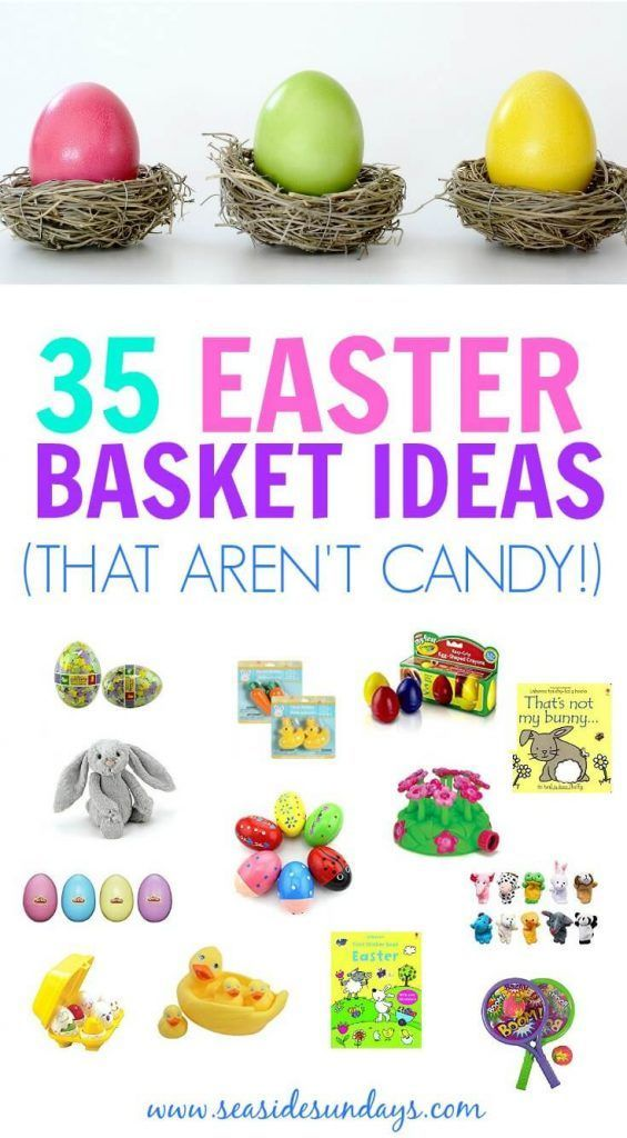 35 non candy easter basket ideas for kids basket ideas easter 35 non candy easter basket ideas for kids basket ideas easter baskets and easter negle Gallery
