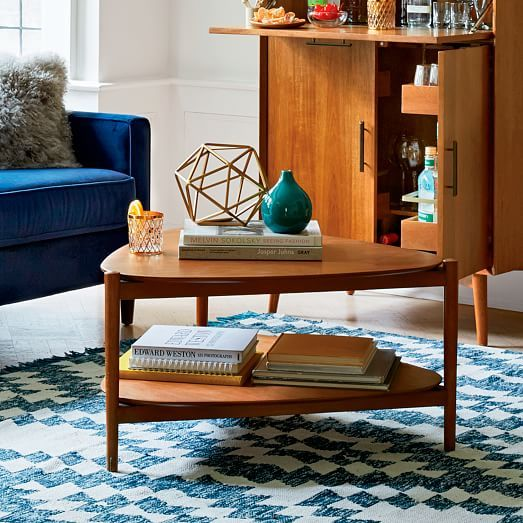 Retro Tripod Coffee Table #westelm