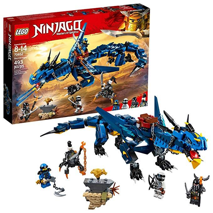 LEGO NINJAGO Masters of Spinjitzu Stormbringer 70652 Ninja Toy Building Kit ...