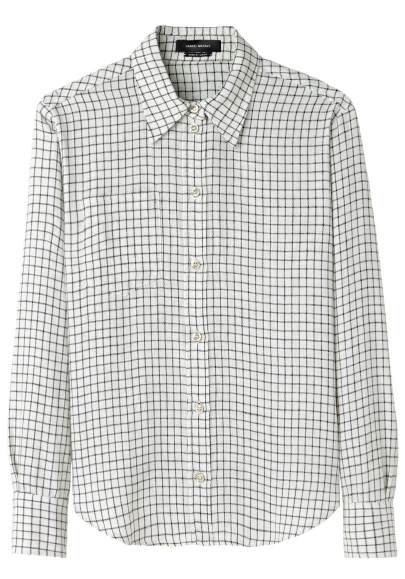 Isabel Marant Dully Check Shirt | La Garçonne
