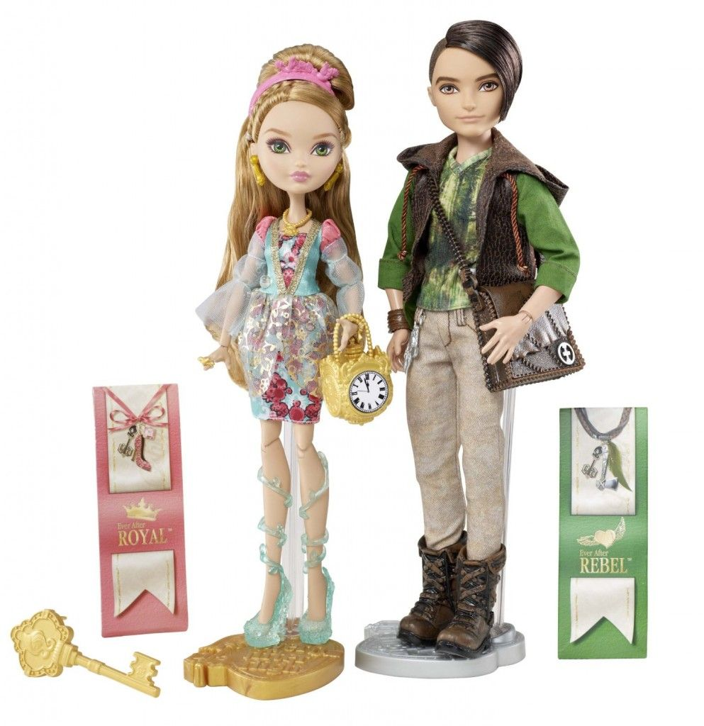 Ever After High Ashlynn Ella y Cazador