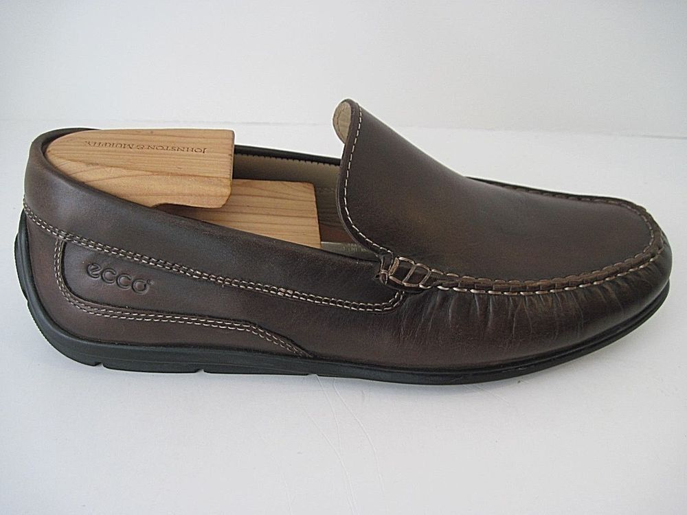 Brown Genuine Leather Moccasin