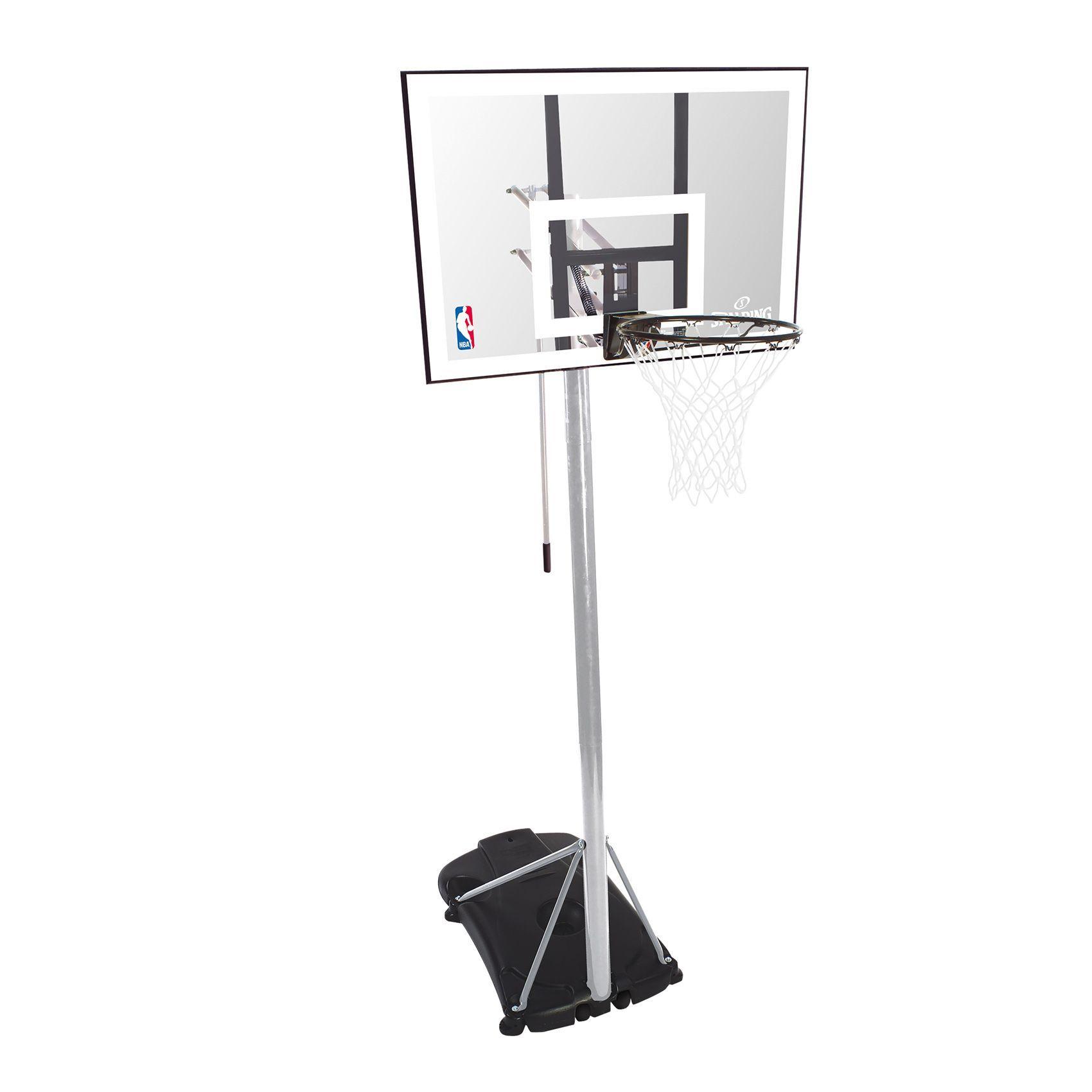 Canasta Spalding Silver Portable Baloncesto Resistente Al Agua Aros