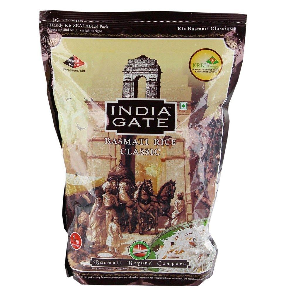 Buy india gate basmati rice classic 1 kg online in