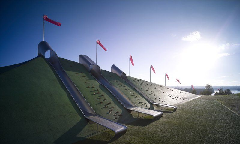playgrounds of the future.    Blaxland Riverside Park by JMD Design