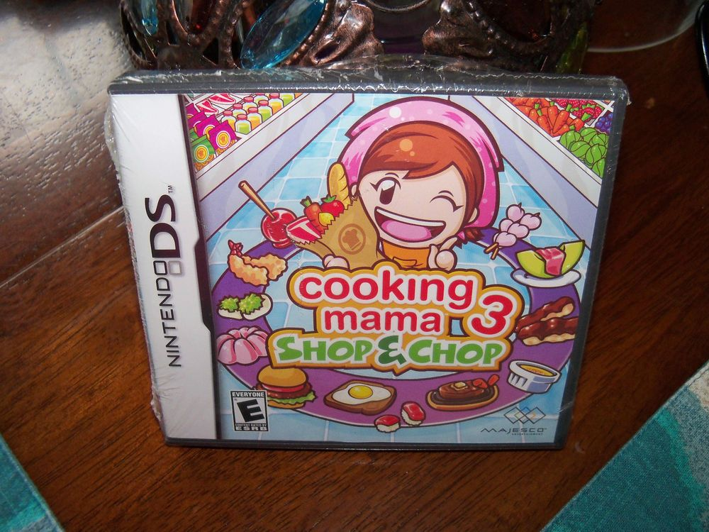 Cooking Mama 3 Shop & Chop (Nintendo DS, 2009) NEW