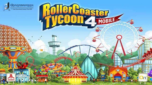 RollerCoaster Tycoon MOD APK OBB V Free Download Updated - Minecraft rollercoaster spielen