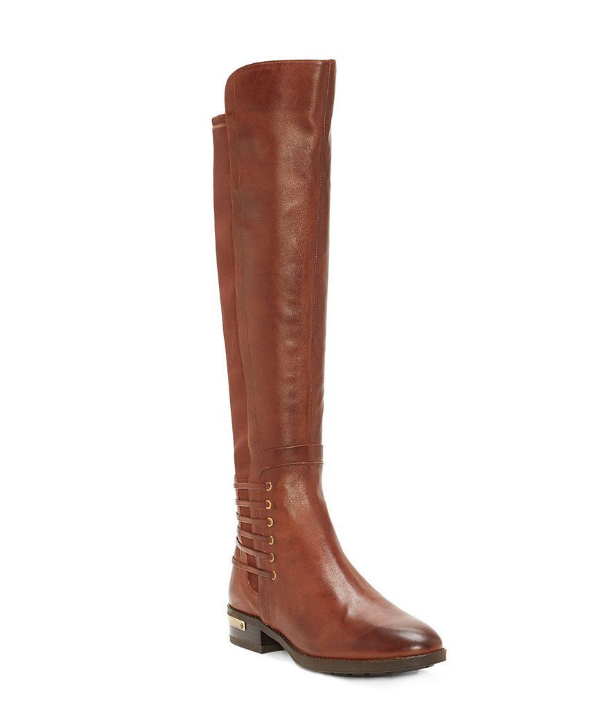 9ef10edbf60 Vince Camuto Payge Leather Over The Knee Riding Boots in 2019