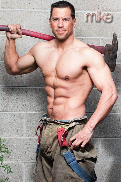 Midwest Firefighters Strut Their Stuff For 2014 Calendar