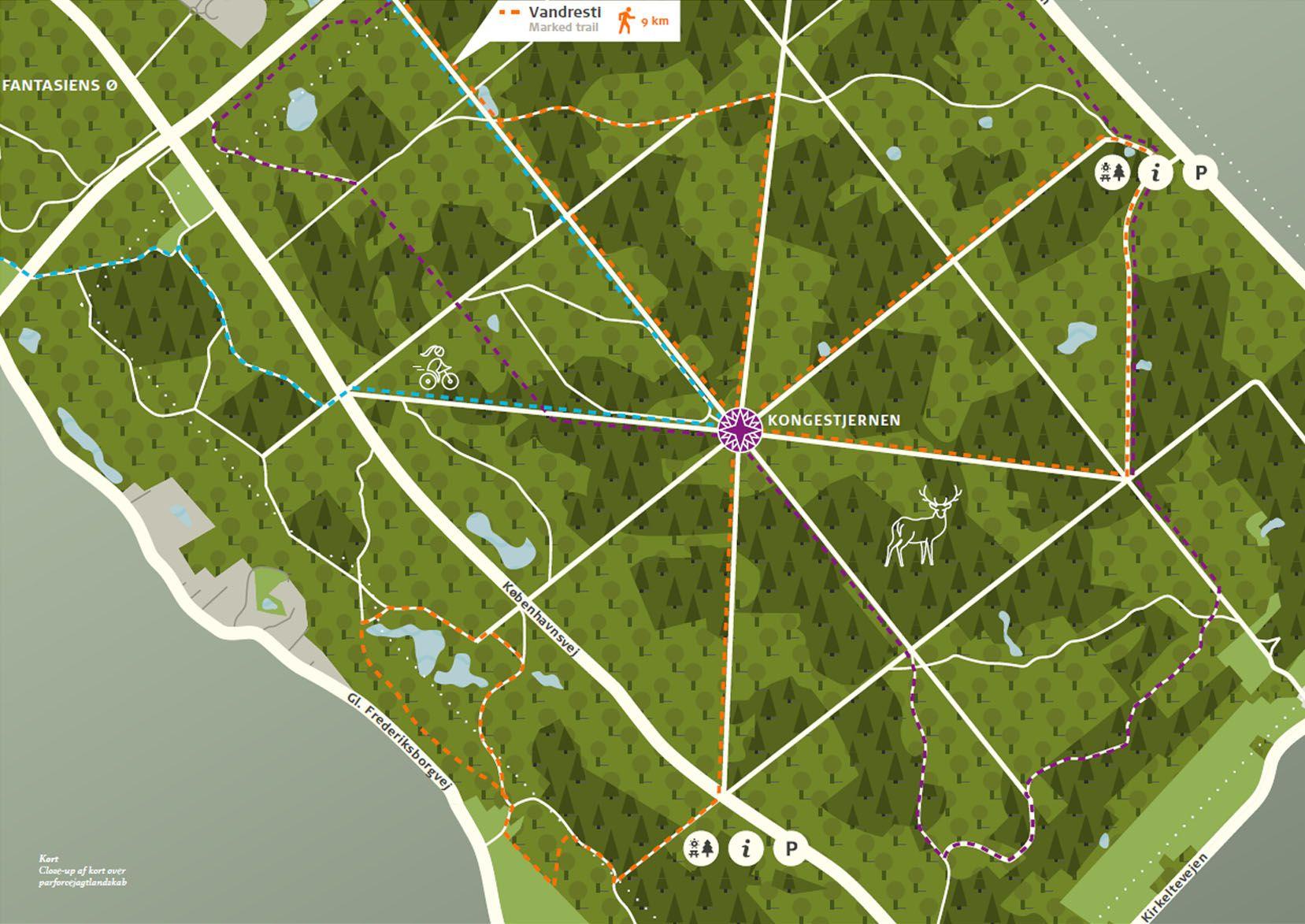 Map Over Hillerod Denmark Studio Leh 2019 Map Graphicdesign