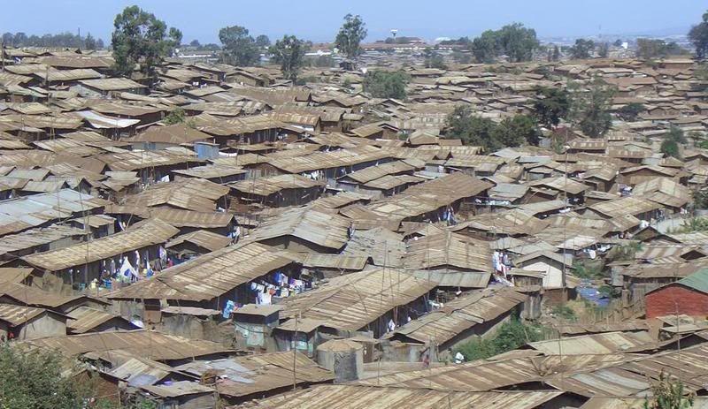 Kibera Slums Nairobi Kibera