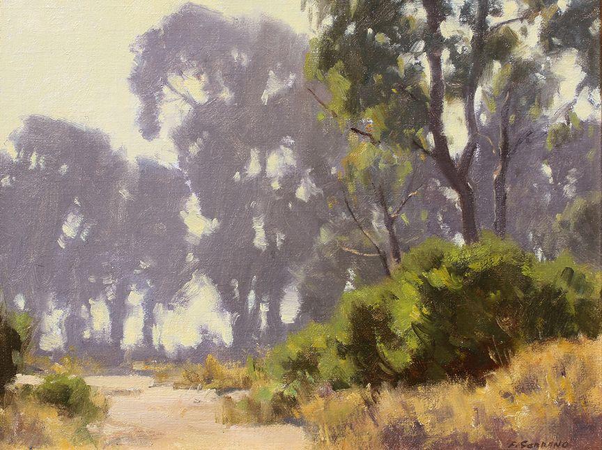 Frank Serrano Plein Air Artist Plein Air Oil Paintings Of The American West California Plein Air P California Art Oil Painting Landscape Landscape Paintings