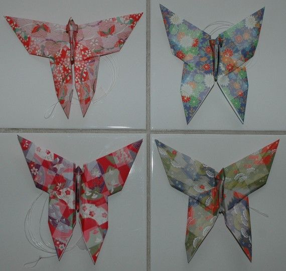 Handmade Hanging Origami Butterfly By ButterflyAdornments On Etsy Art Collectibles Mixed Media
