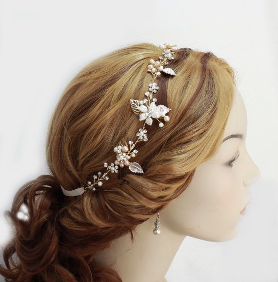 Bridal hair vine Wedding hair accessories Bridal hair