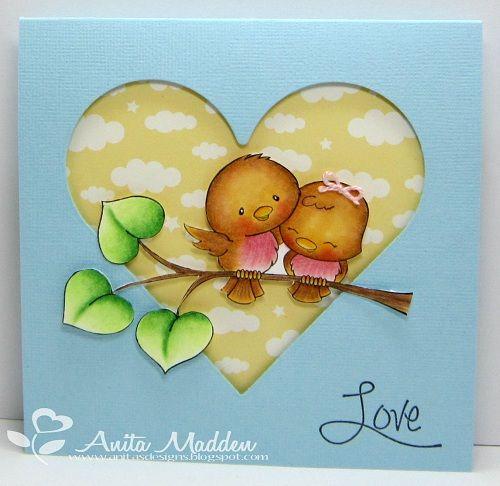 CC Designs Sweet November - Love Birds - bjl